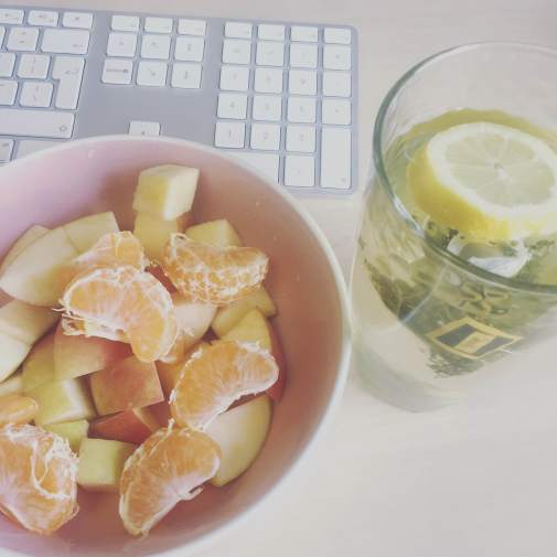 Fruit and Green Tea